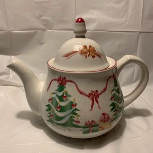 Sango Home for Christmas Teapot with Lid
